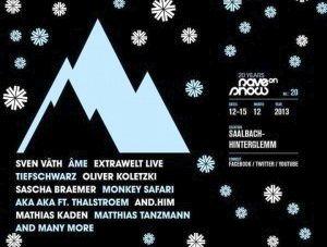 Rave On Snow 2013 – az első nevek