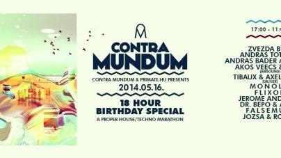Contra Mundum & Primate.hu 18-hour OPEN AIR Birthday Special w/ 16+ DJ's // 2014.05.16.