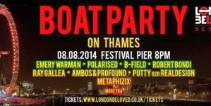 London Calling beharangozó – London Beloved Boat Party