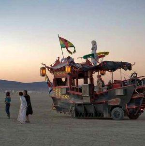 Fantasztikus képek az idei Burning Man fesztiválról!