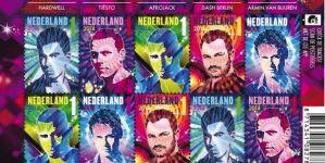 DJ-k arcképe köszön vissza az új holland bélyegeken