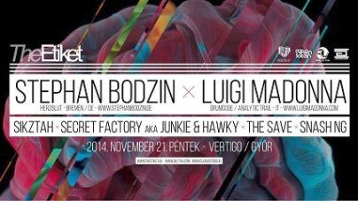 The Etiket w/ Stephan Bodzin x Luigi Madonna