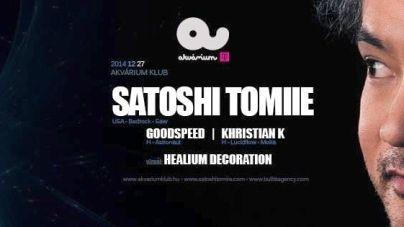 Keep on Groovin' –  Satoshi Tomiie az Akváriumban