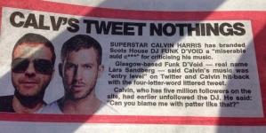 """Calvin Harris """"szánalmas vén f***nak"""" nevezte Funk D'Voidot"""