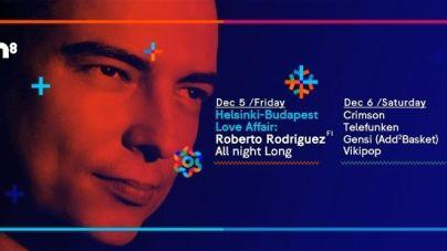 7 órás Roberto Rodriguez szett ma este a Room8-ben!