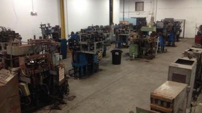 Chicago egyik elhagyatott raktárában 13 bakelit présgépet találtak