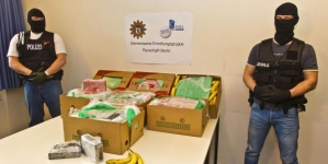 386 kiló kokaint találtak tegnap a berlini Aldi-ban!