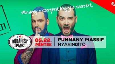 Budapest Park: Punnany, 30Y, Punnany ráadás