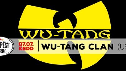 Wu-Tang Clan július 7-én  a Budapest Parkban!