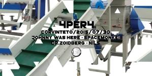 4PER4 @ CORVINTETŐ w/ Dr. Zoidberg, Nils, Johnny Was Here, SpaceMonkei