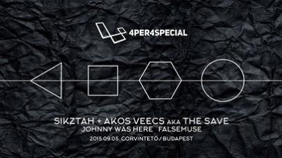 Különkiadásban mutatja be új EP-jét Sikztah és Akos Veecs a Corvintetőn