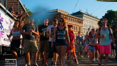 Képek a hétvégi bécsi Streetparade-ról