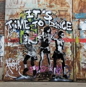 Berlin graffitis szemmel