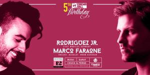 12/12 Cinema Hall 5th Birthday with Rodriguez Jr & Marco Faraone