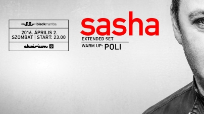 Egész estés szettel tér vissza hazánkba Sasha!