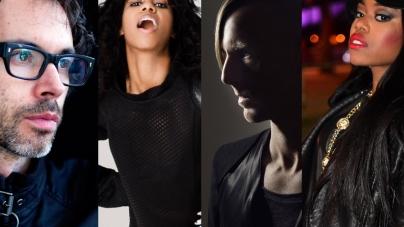 Santigold, A-Trak, Kaytranada, Yung Lean, James Rhodes, Ata Kak and Richie Hawtin a Sónar fesztiválon
