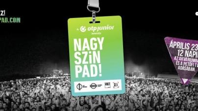 Újra indul a szavazás a NAGY-SZÍN- PAD!-on!