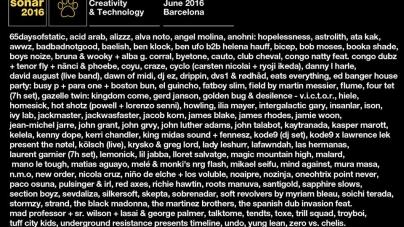 Sónar 2016 @ Barcelona