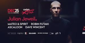 Julian Jeweil fellépésével készül karácsonyozni a Carbon!