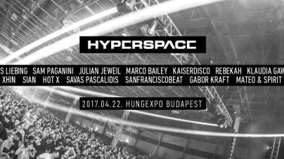 Már elérhetőek a jegyek a HYPERSPACE-re!