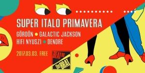 Pénteken folytatódik Budapest egyetlen italo disco sorozata