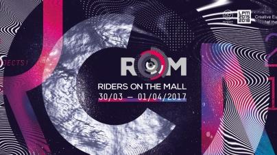 ROM – Riders on the Mall nemzetközi audiovizuális találkozó most hétvégén