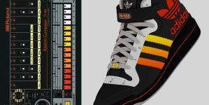 TR-808 ihlette sportcipőt mutatott be az Adidas