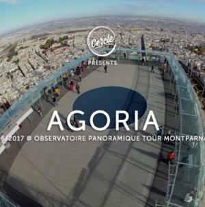 Agoria 210 méter magasan zenélt egy párizsi felhőkarcoló tetején