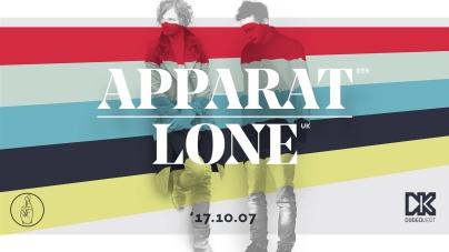Apparat és Lone októberben a Dürerbe jönnek!