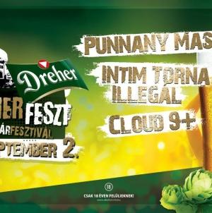 Szeptember 2-án lesz a DreherFeszt