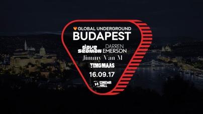 Budapesten a Global Underground!