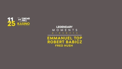Legendary Moments presents: Emmanuel Top & Robert Babicz