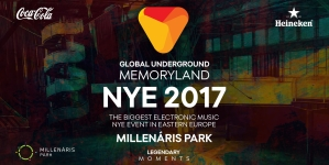Global Underground & Legendary Moments – MEMORYLAND NYE 2017, Millenáris