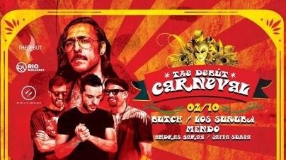 Mesteri négyessel karneválozik idén a Debut!