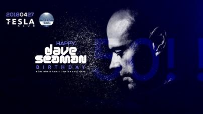 Dave Seaman Budapesten ünnepli 50. születésnapját