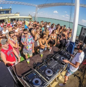 VEUVE CLICQUOT BOAT PARTY @ Balaton Sound 2018