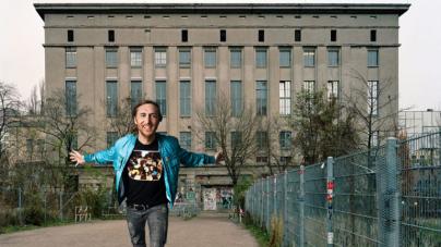 David Guetta szeptember elején ellátogatott a Berghainba