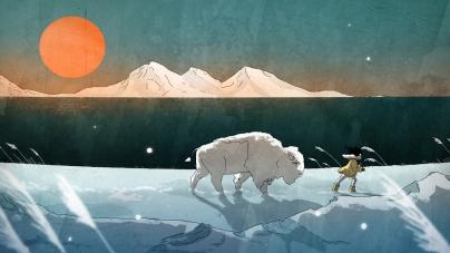 Amikor összemosódik képzelet, álom és valóság – Animációs klip az északi fény születéséről