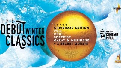 Szombaton érkezik a tél legforróbb, egyben karácsonyi klasszik bulija