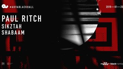 Régi ismerős a háznál – Paul Ritch ma este az Akvárium Black Hall-ban