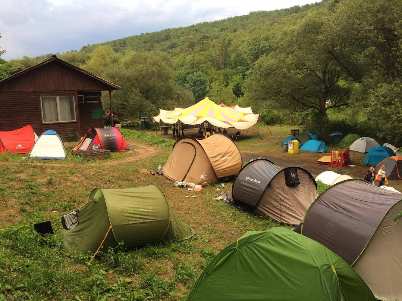 Déli Színpad a táborból