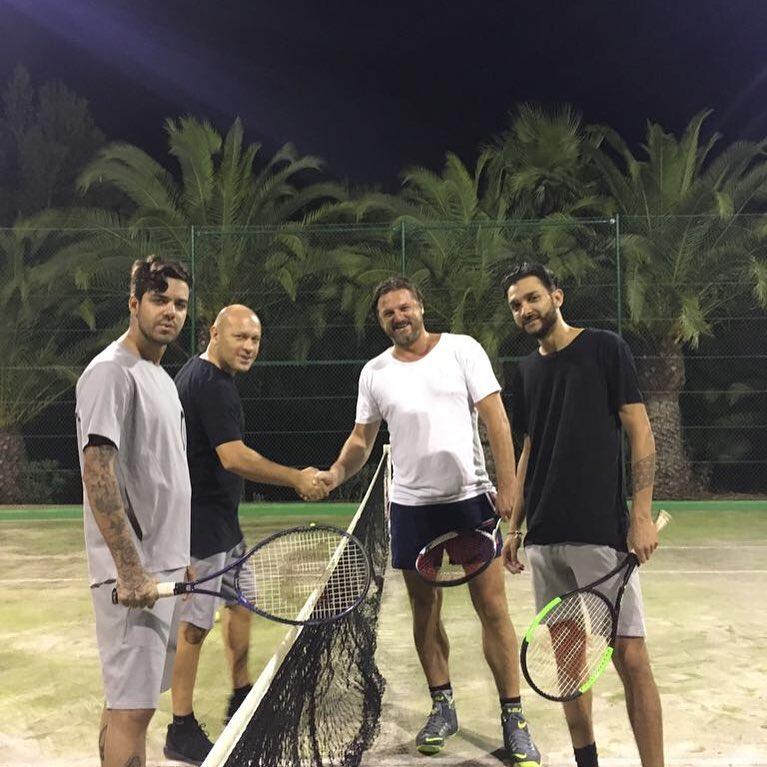 Olaszország vs Balkán teniszmeccs