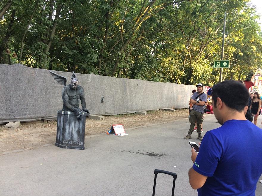 Idén először rendezték meg az élő szobrok bajnokságát
